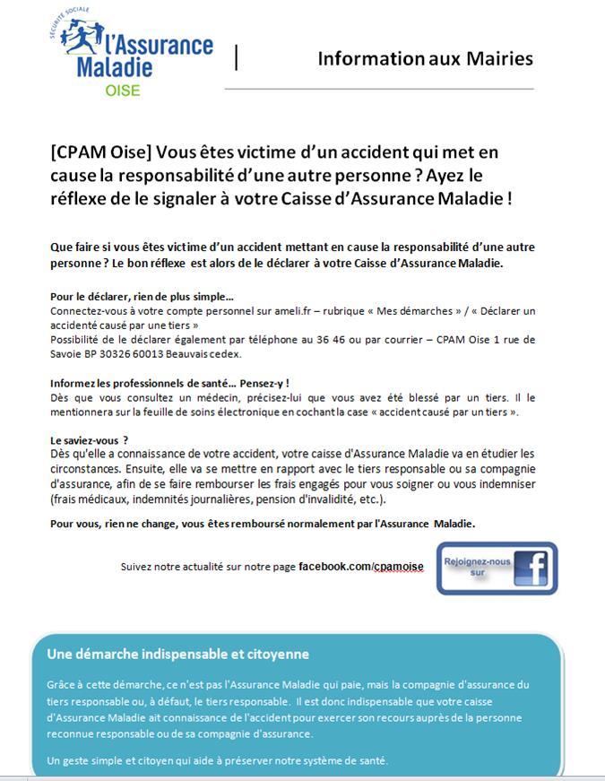 Information C.P.A.M.   Verneuil-en-Halatte ec3ea3c8b81e